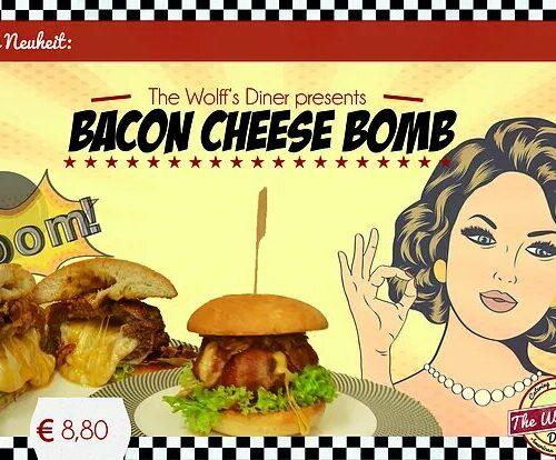 Unsere Neuheit: The Bacon Cheese Bom