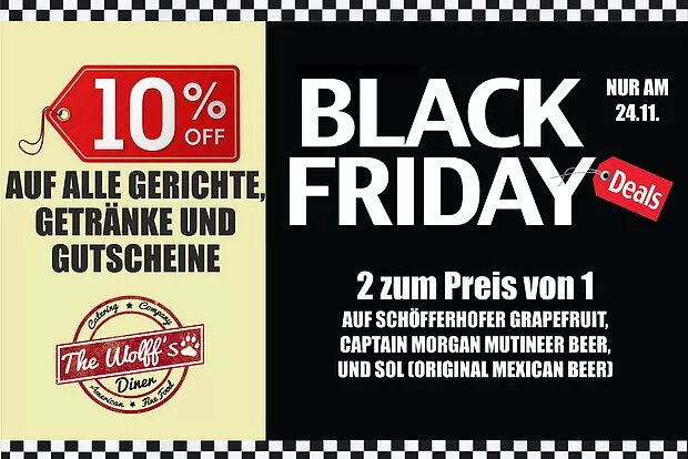 Tages-Special – Black Friday am 24.11.17