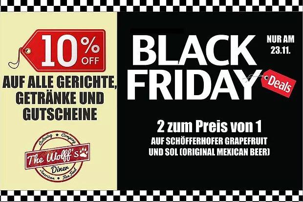 Black Friday am 23.11.18