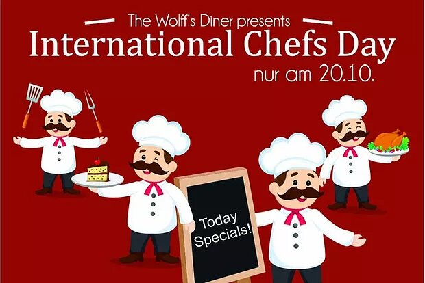 Special: Int. Chef Day am 20.10.19