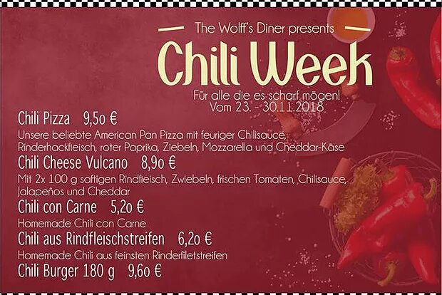 Special: Chili Week 23.-30.11.18