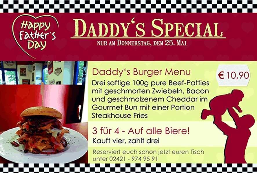 Daddys Special 25.05.17