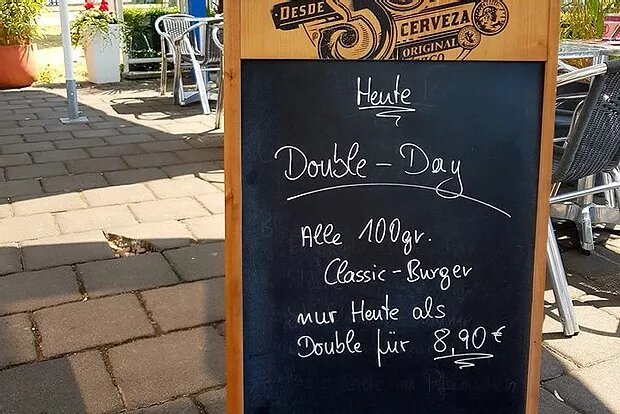 Daily Special: Double Day nur am 21.07.18