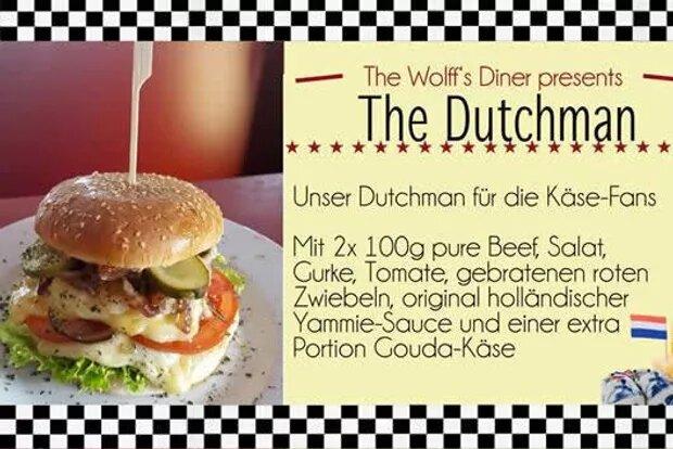 Special – The Dutchman Burger auch im November