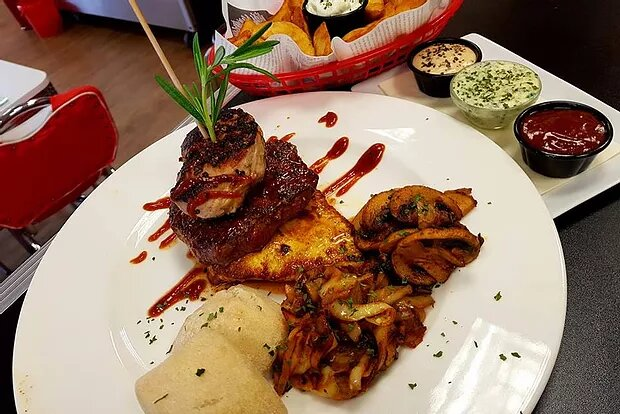 """Daily Special: """"THE WOLFF'S FILET-COMBO"""" am 20.05.18"""