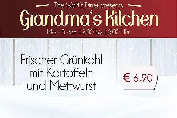 Grandma's Kitchen: 18. – 22.11.19 mittags