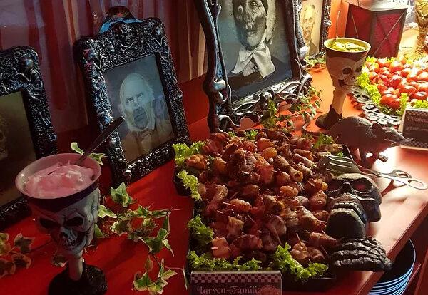 Daily Special zu Halloween: 31.10. Gruselbuffet