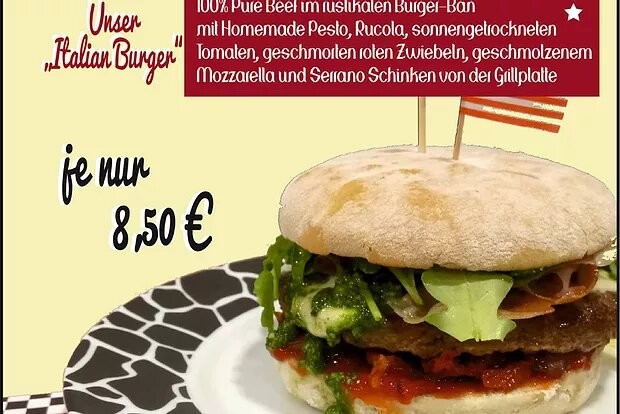 Wochen-Special: Korean BBQ Style Chicken & Italian Burger