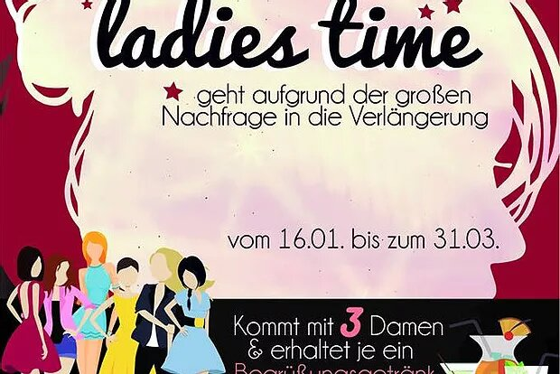 Ladies Time von 16.01. – 31.03.17