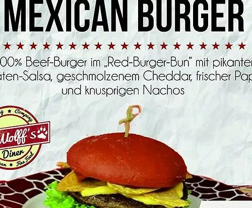 Taste the Mexican Burger