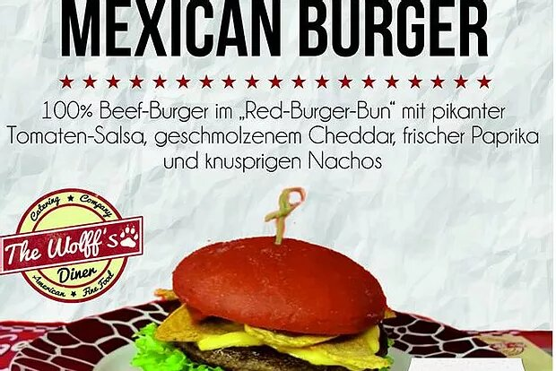 Taste the Mexican Burger