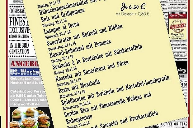 Wochenkarte Mittagstisch 21.11.-02.12.16