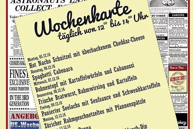 Wochenkarte Mittagstisch 05. – 16.12.16