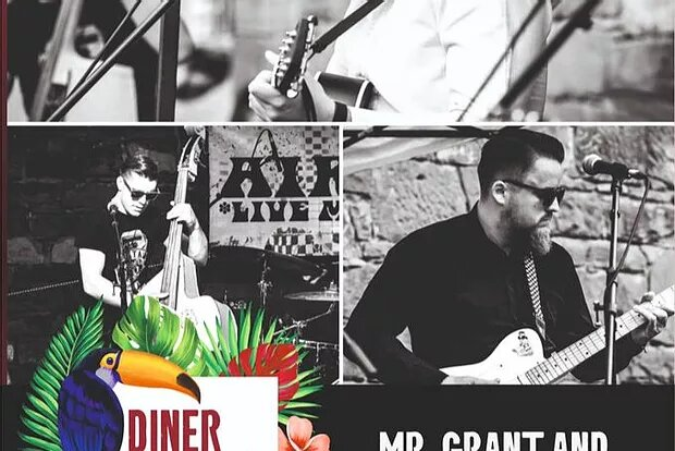 Diner Summer Nights: 15.08.20 Mr. Grant and his Booze Brothers