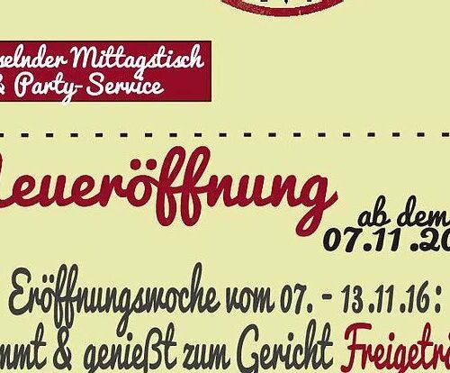 Eröffnungswochen-Special
