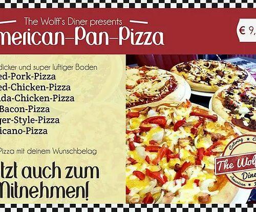 Original American Pan Pizza - auch zum Mitnehmen