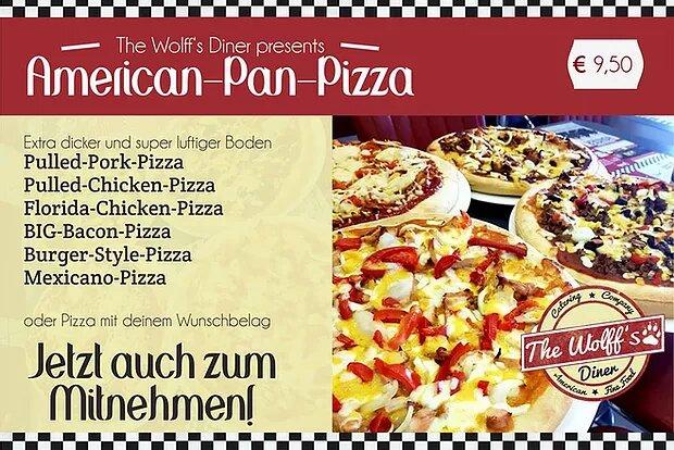 Original American Pan Pizza – auch zum Mitnehmen
