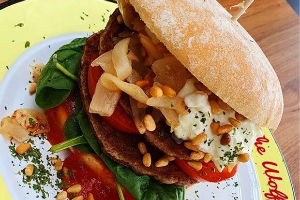 Monatsspecial Juli: Popeye Burger