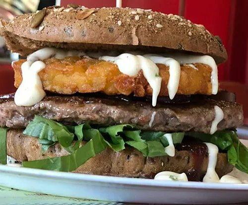 Special: Halloweek Pumpkin Burger 26.10. - 02.11.19