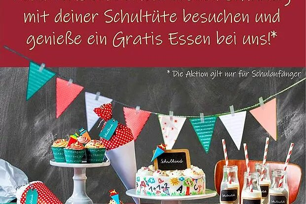 Daily Special: Schultüten Special am 29. + 30.08.18