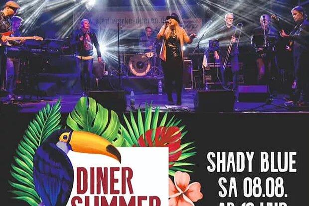 Diner Summer Nights: 08.08.20 Shady Blue