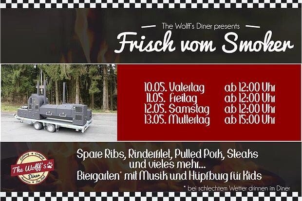 Special 10.-13.05.18 – Der XXL-Smoker